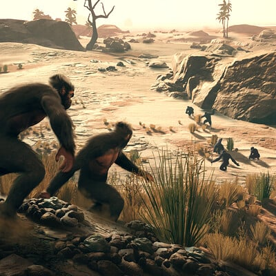 Ancestors: The Humankind Odyssey - Official Marketing Images