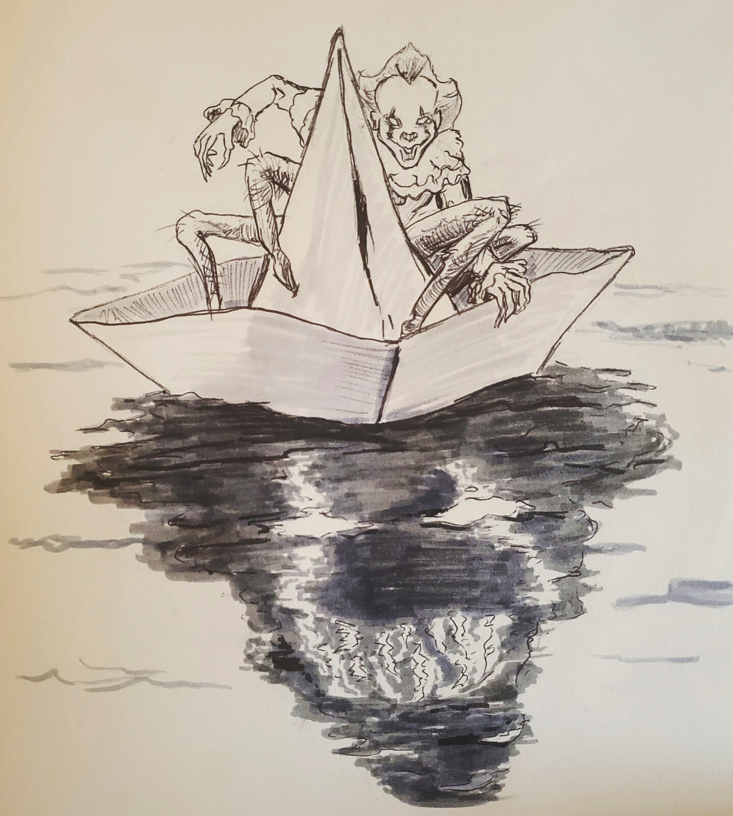 "Inktober 2020 ""Float"""