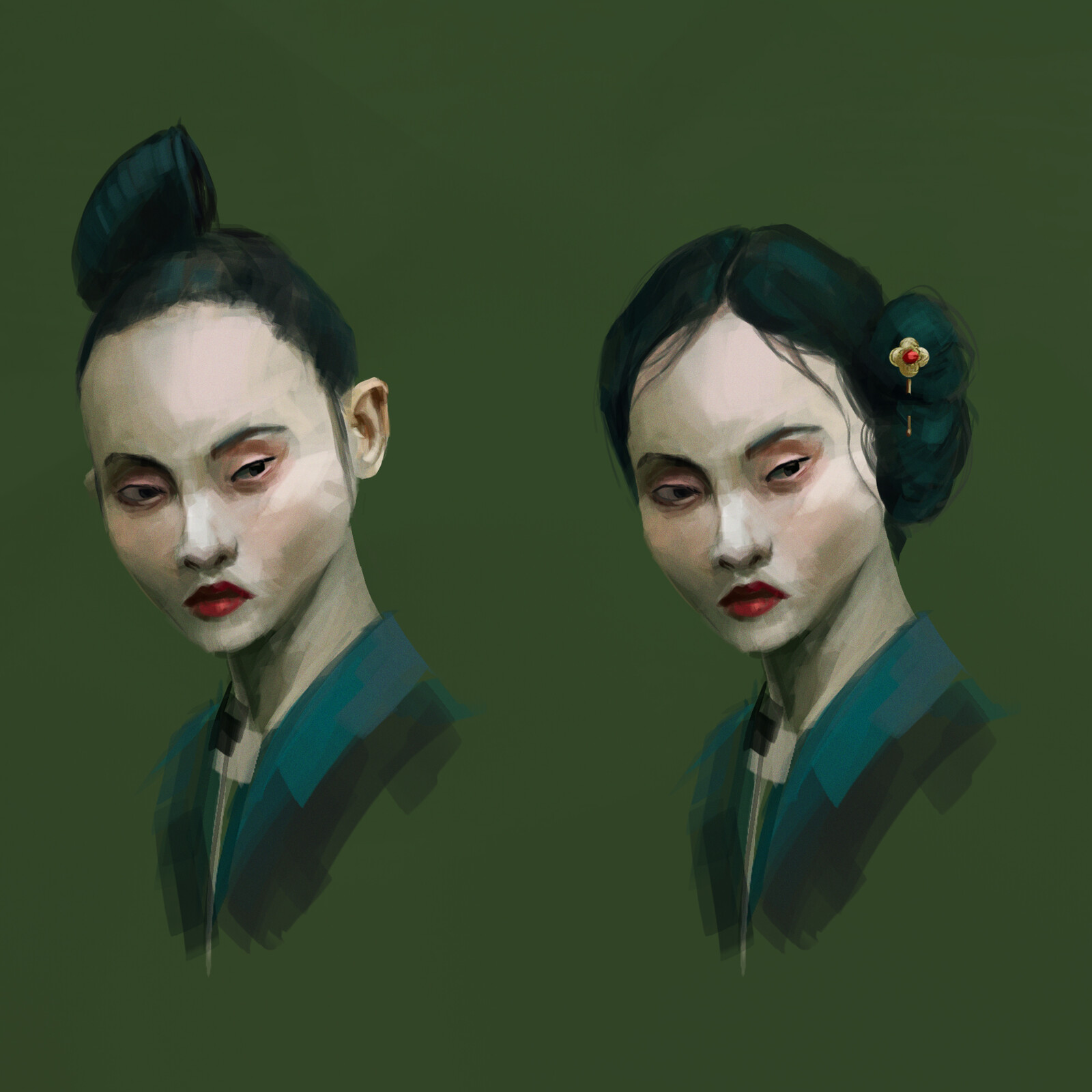 Daily sketches and studies