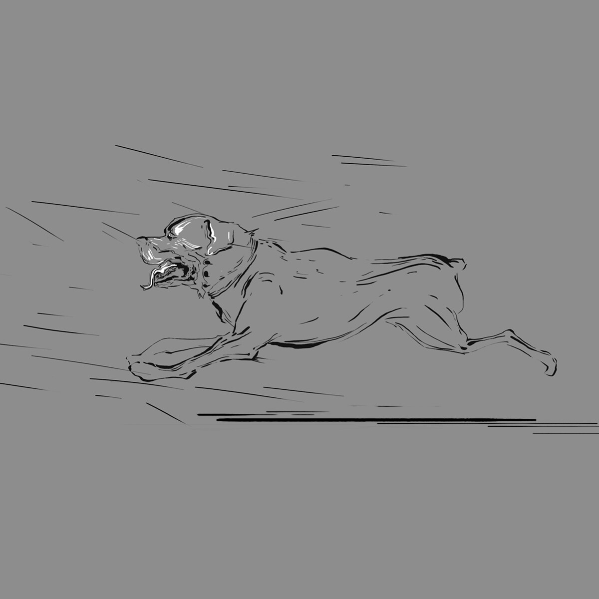 Rottweiler concept scetch 2