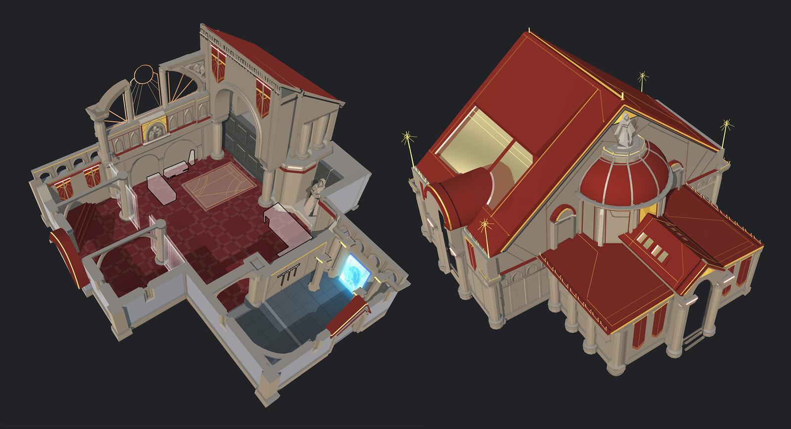 Mortuary level redesign