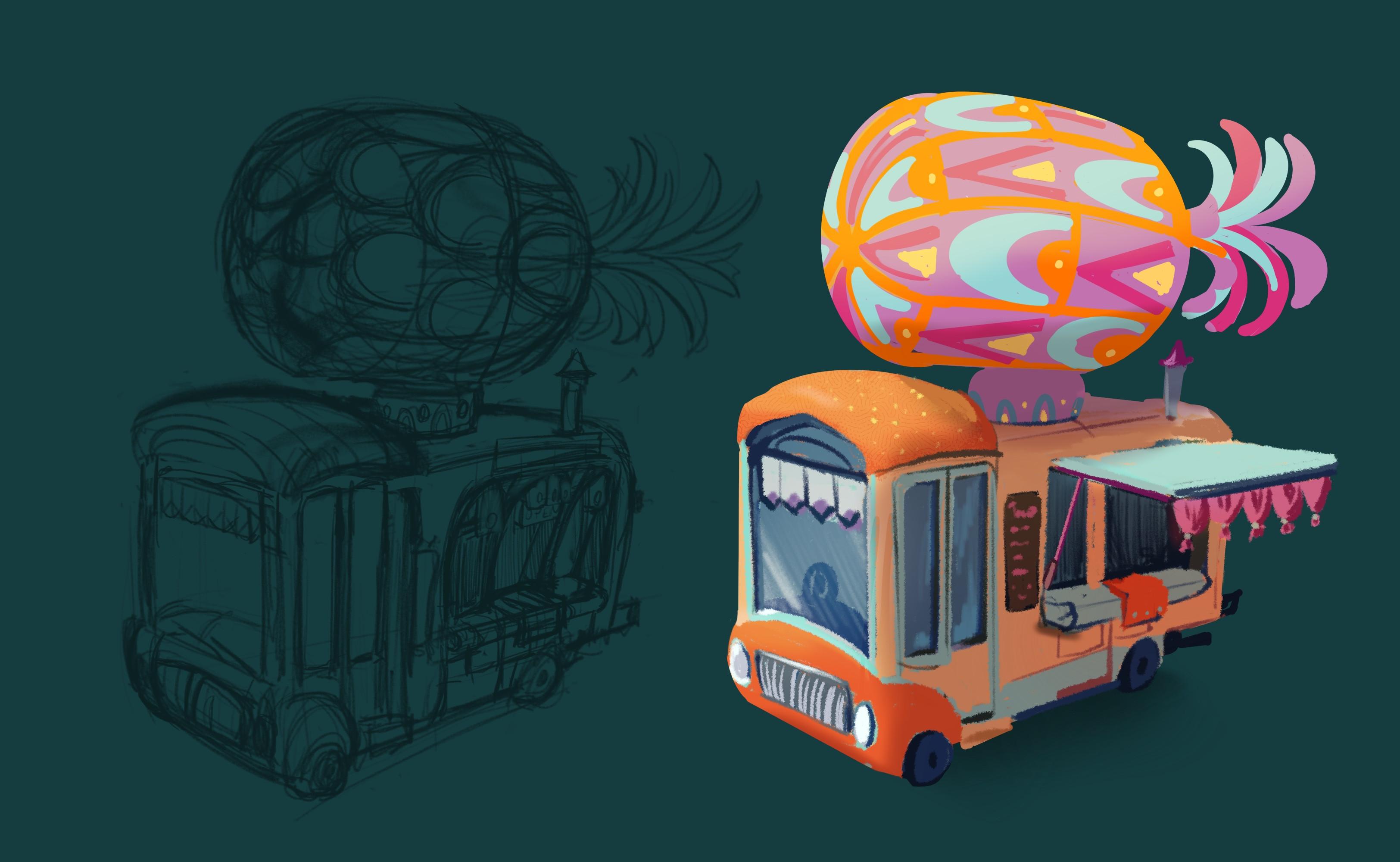 Pineapple buss