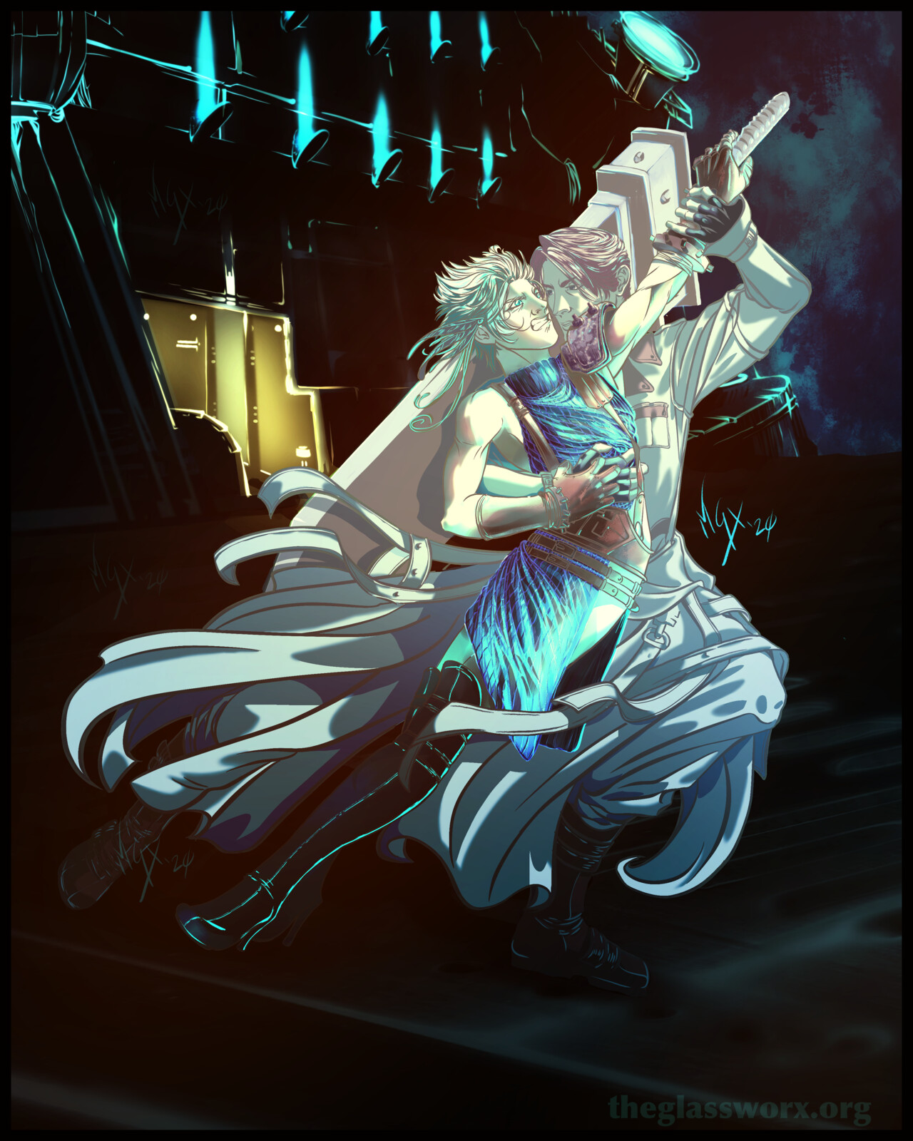 Fan Art: Dance with the Devil - Final Fantasy VII: Remake