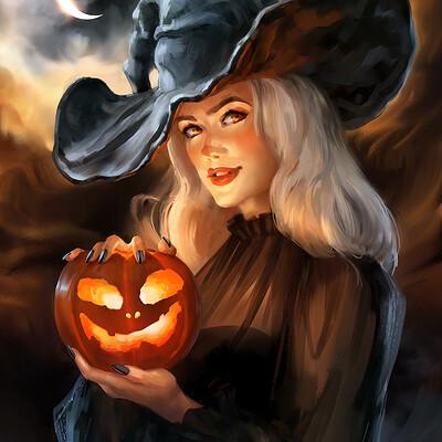 Madeleine bellwoar halloween witch 2020 mbellwoar s