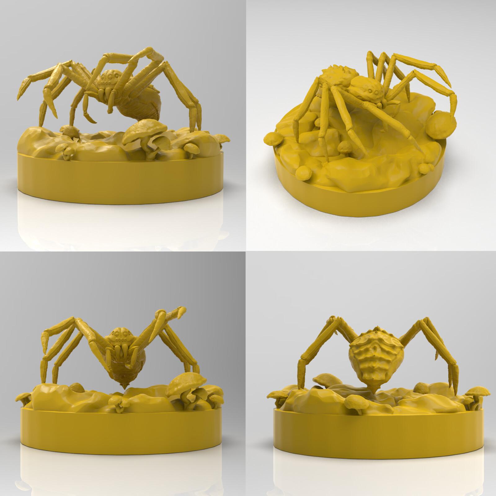 3D miniatures