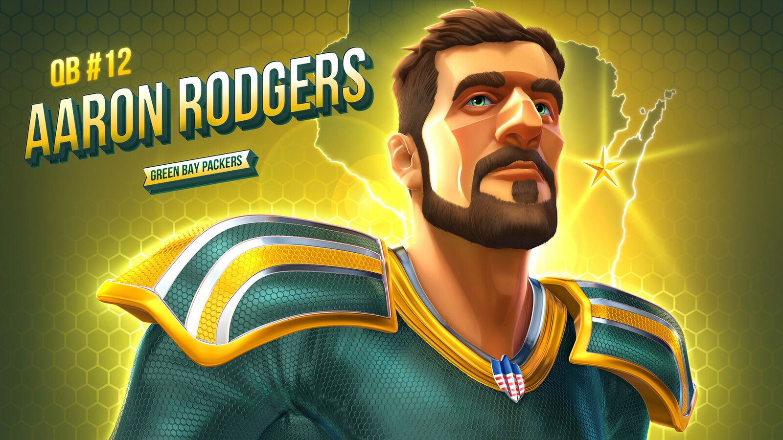 Aaron Rodgers: Stylized Test