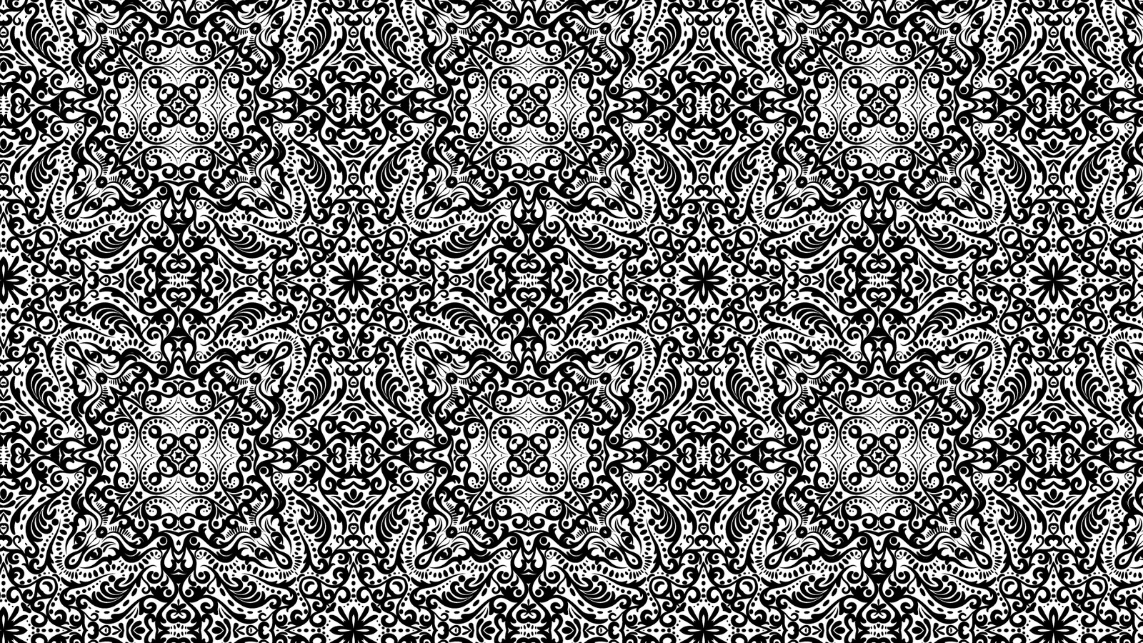 Vector Filigree Repeating Patterns
