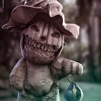 Surajit sen cutei haloween digital sculpture surajitsen oct2020a1 l