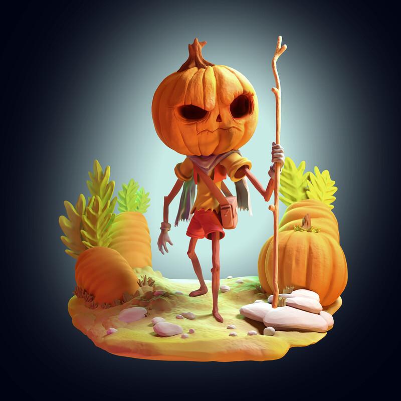 The Pumpkin Mage
