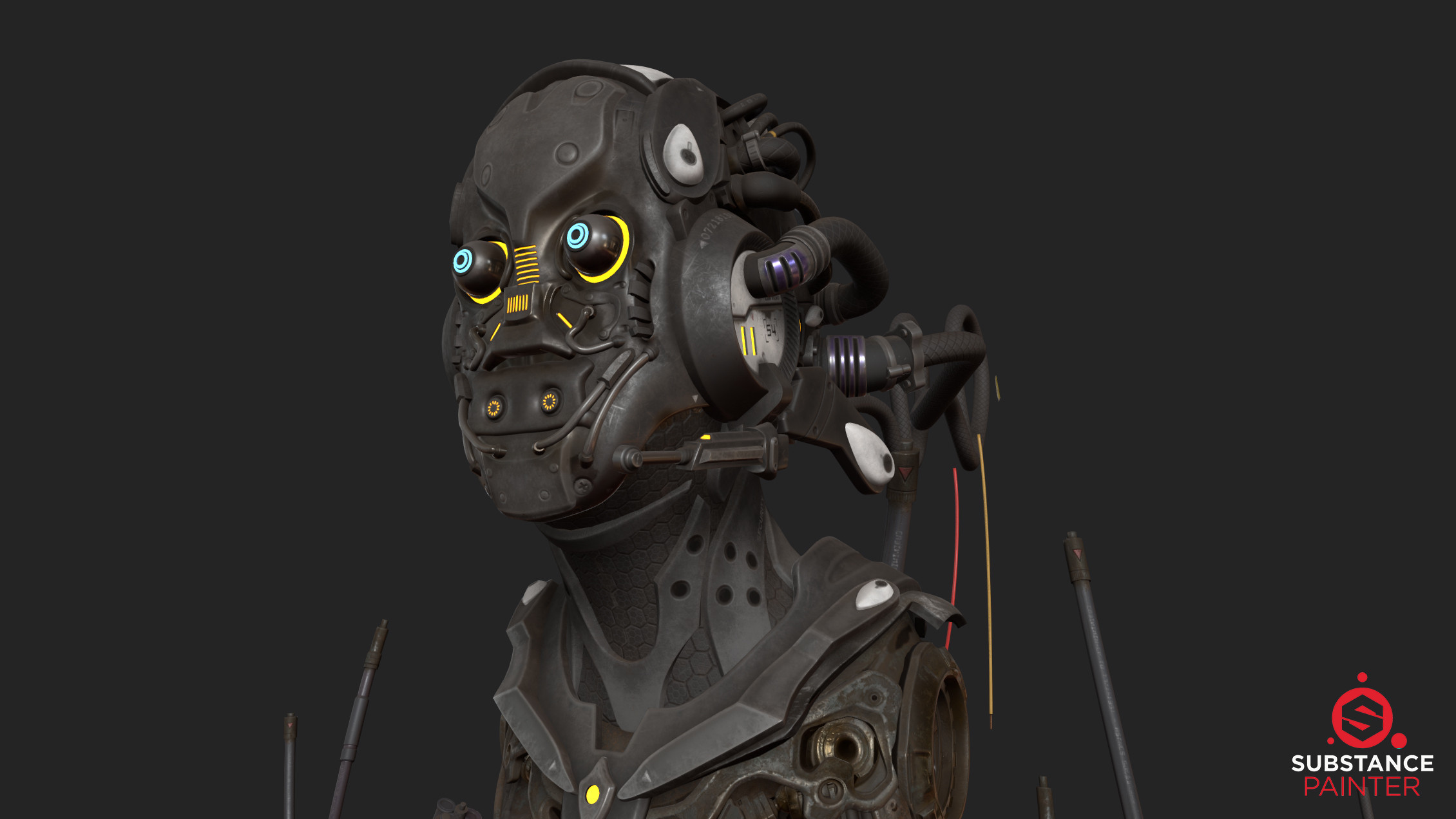 Realtime- Substance Painter