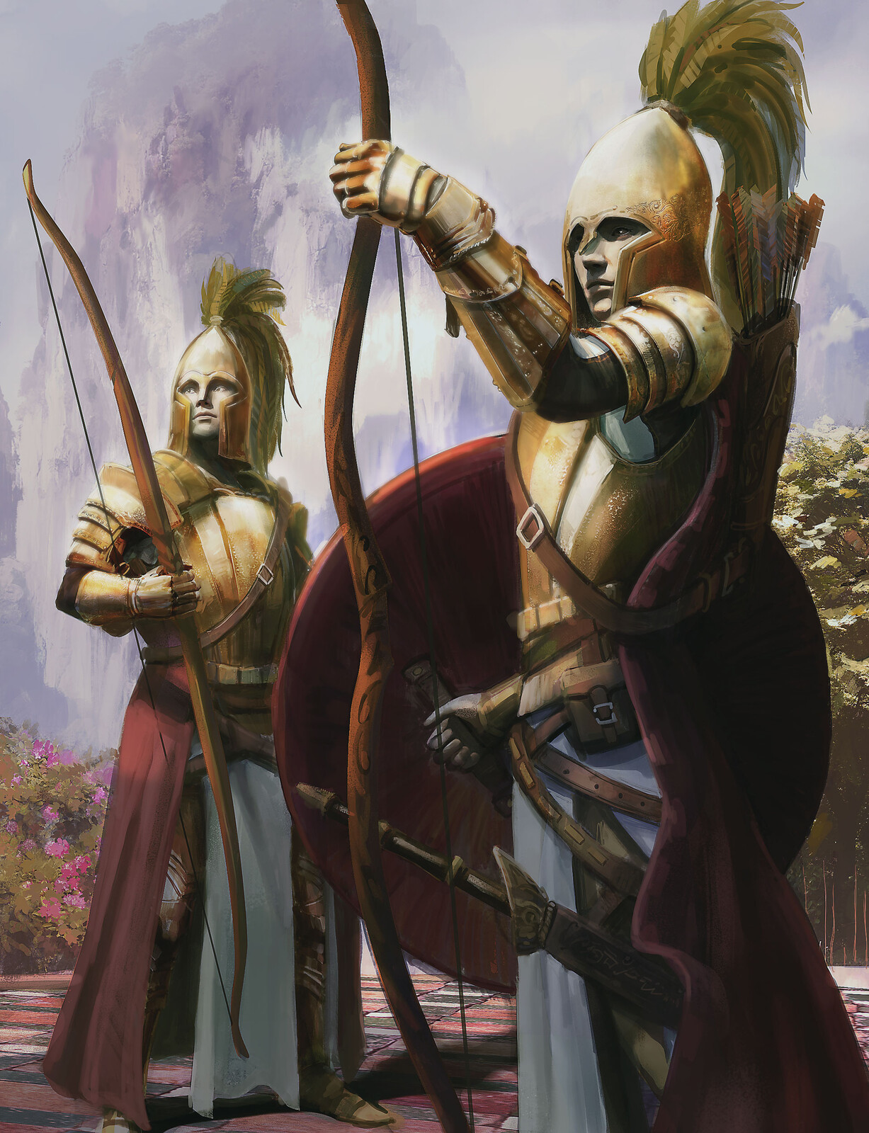 Gondolin golden gate guard - From the Silmarillion
