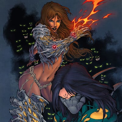 Darkness and Witchblade