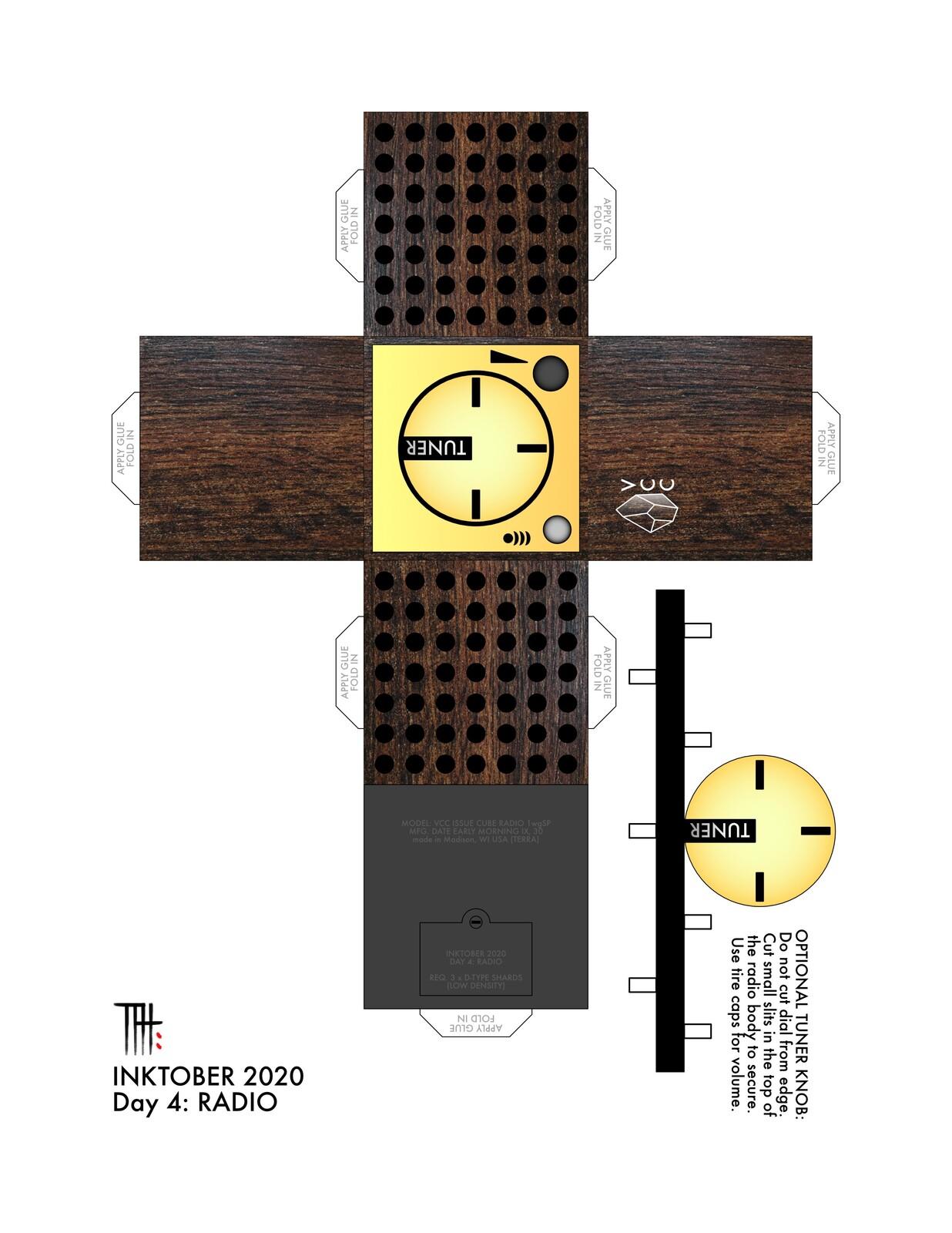 RADIO (woodgrain)  Affinity Designer