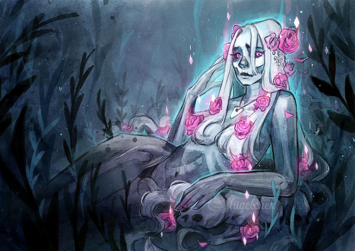 Halloween Ghost redraw
