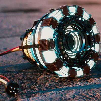 Cgmonkeyking arc reactor on sunset 4k pp