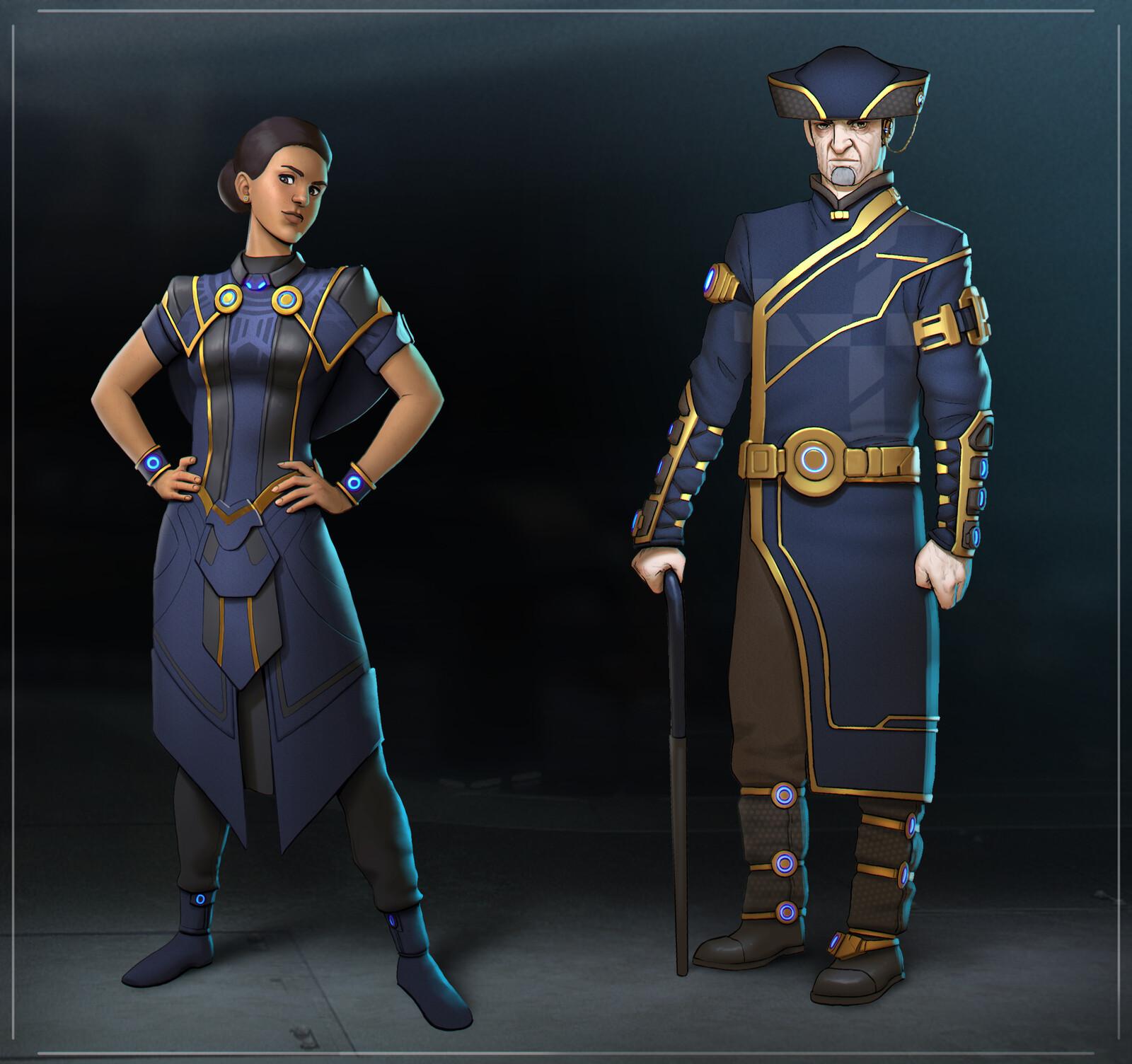 Starship Crew Uniforms