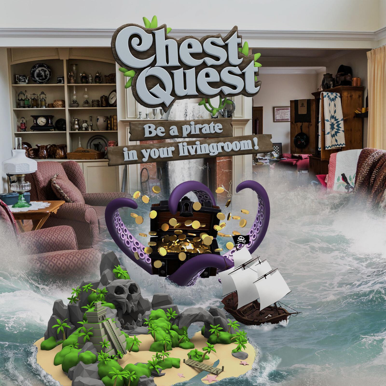 Chest Quest Promotional Image