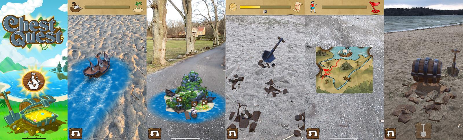 In-App Screenshots