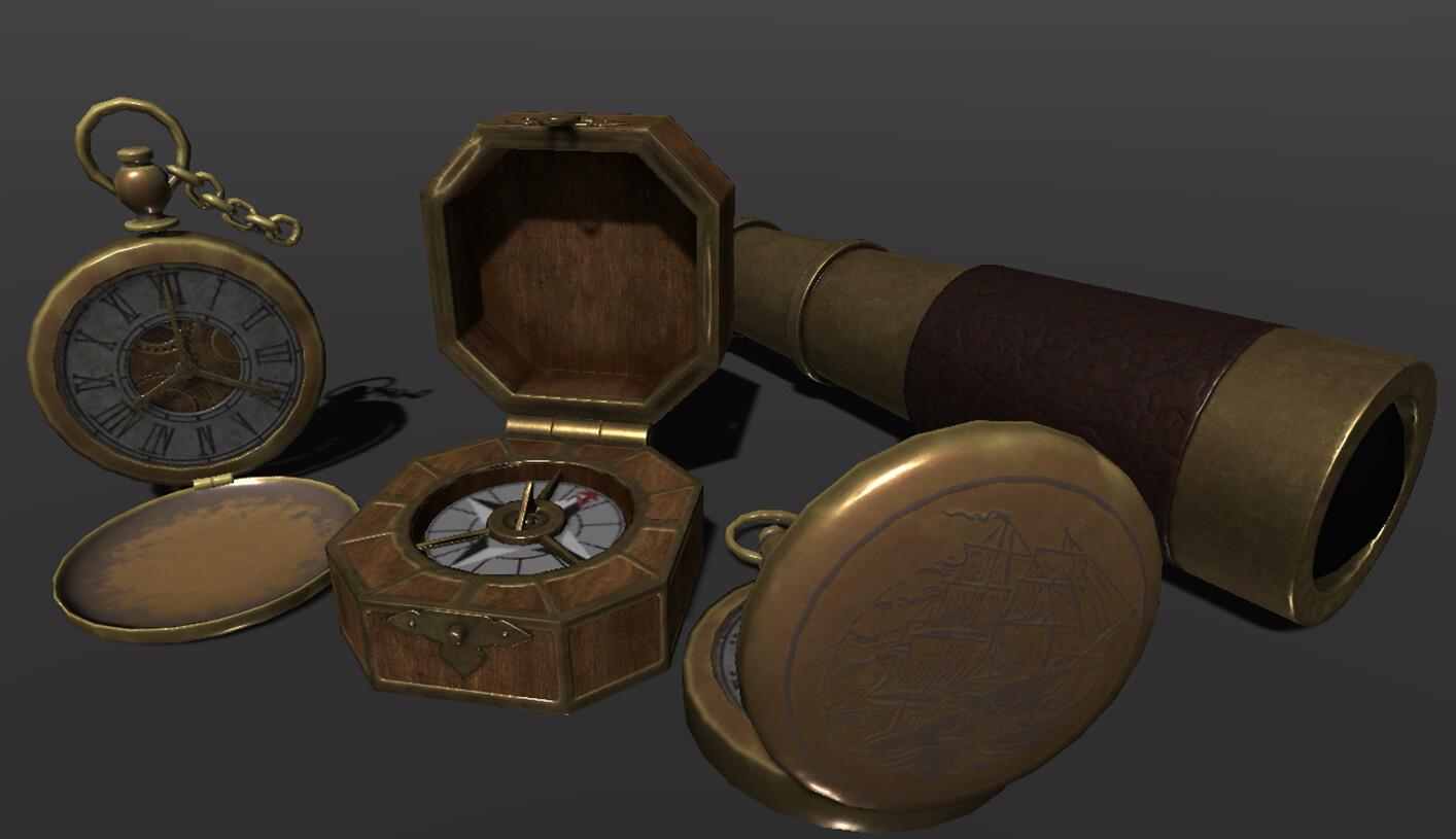 Treasure Hunt Props - Pirate Theme