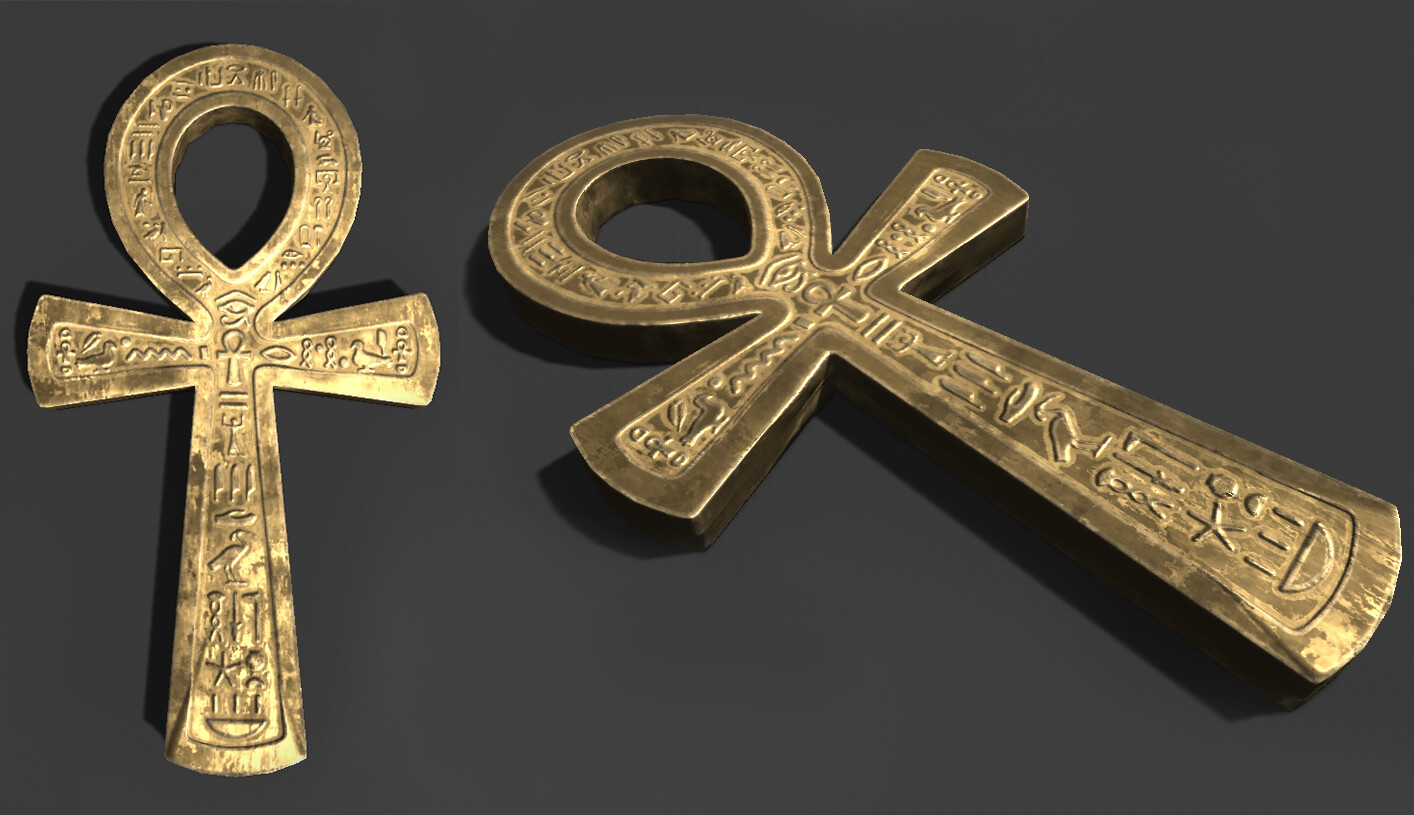 Treasure Hunt Props - Egyptian Theme