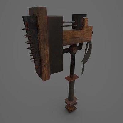 Horror Spike Hammer