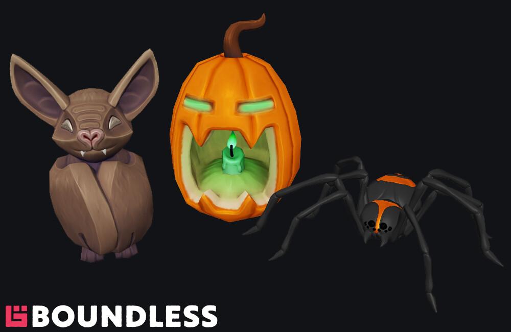 Halloween event props
