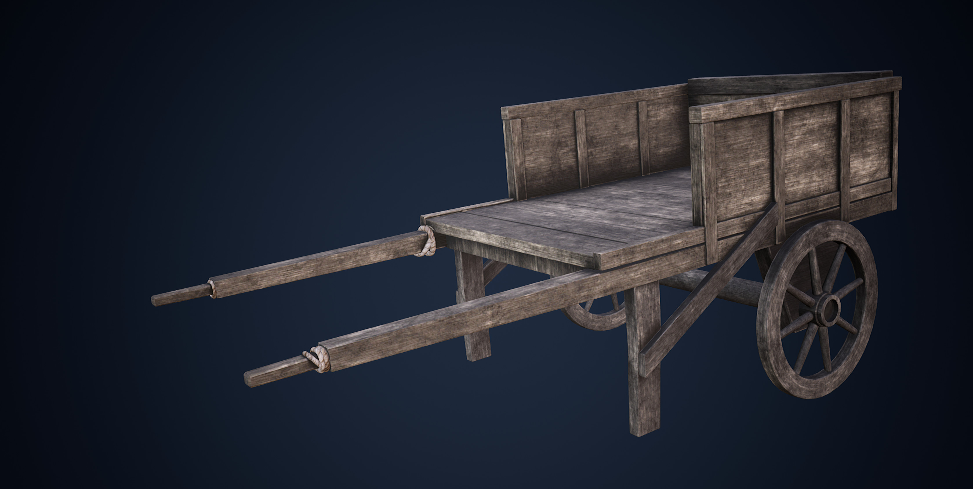 A Wagon (Painted with Substance)