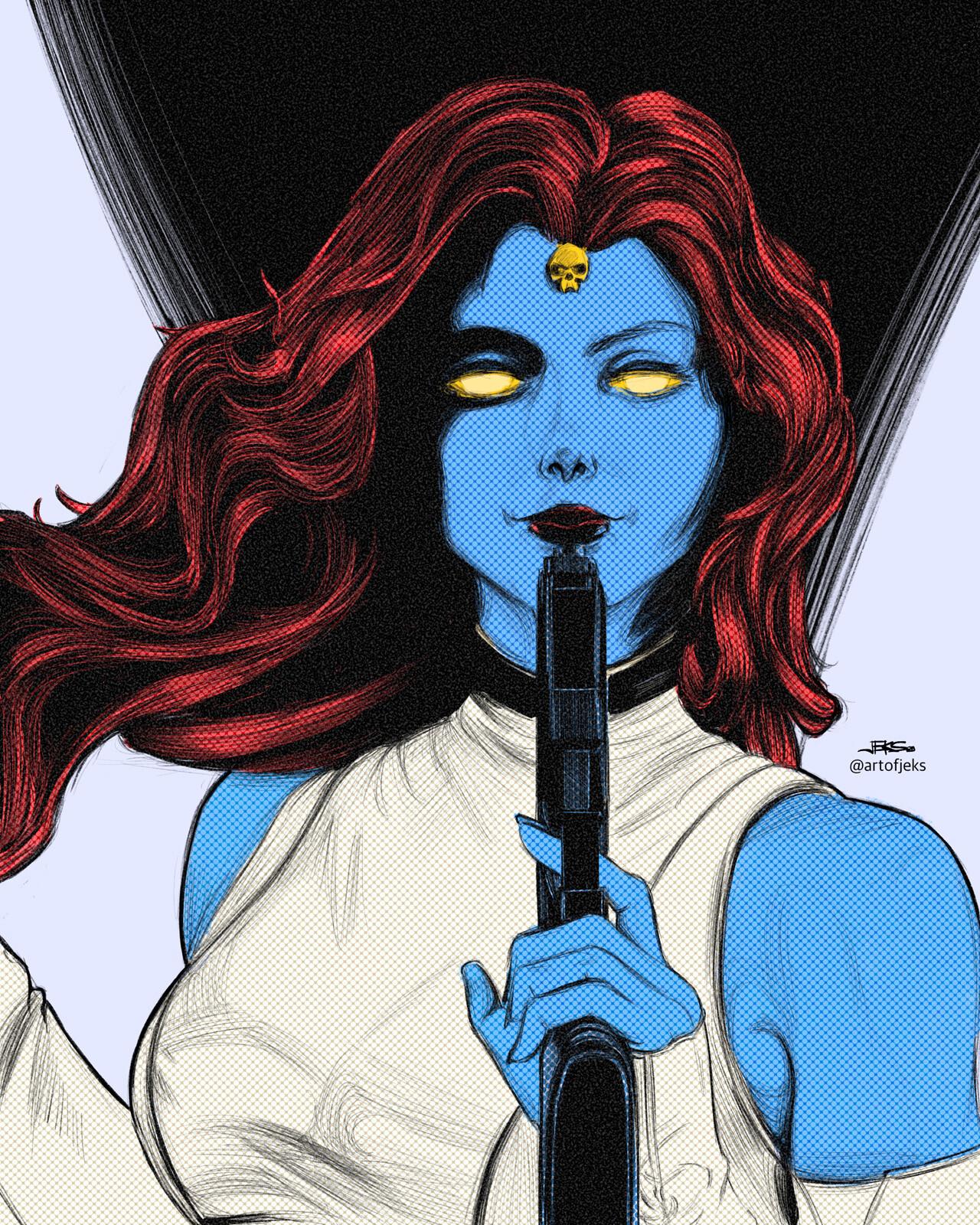 15 - Mystique of X-Men (Marvel Comics)