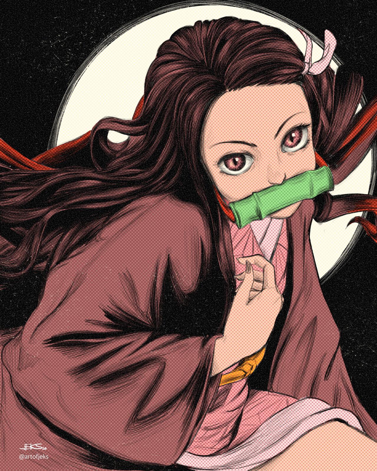 16 - Nezuko of Kimetsu no Yaiba