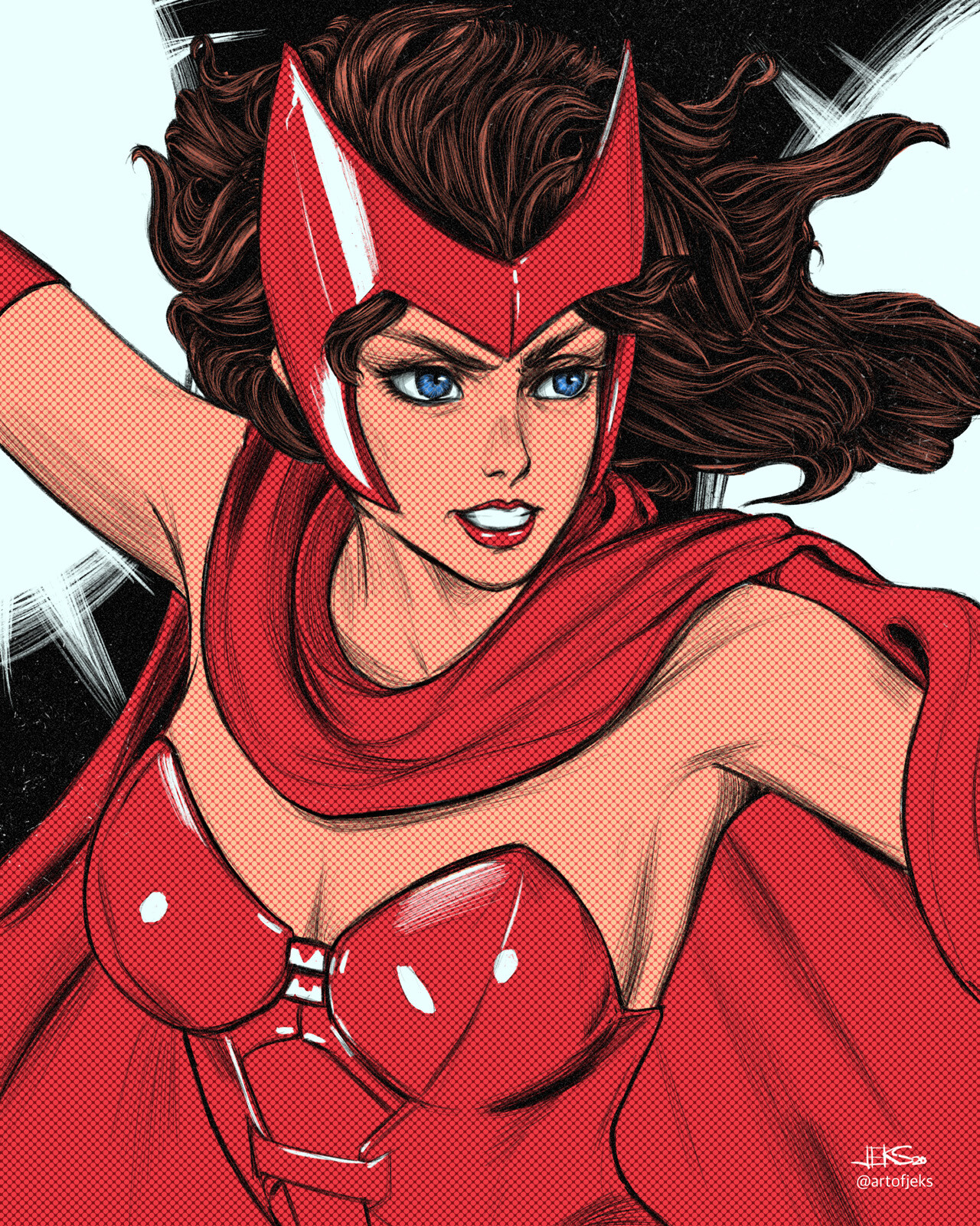 21 - Scarlet Witch of Marvel Comics