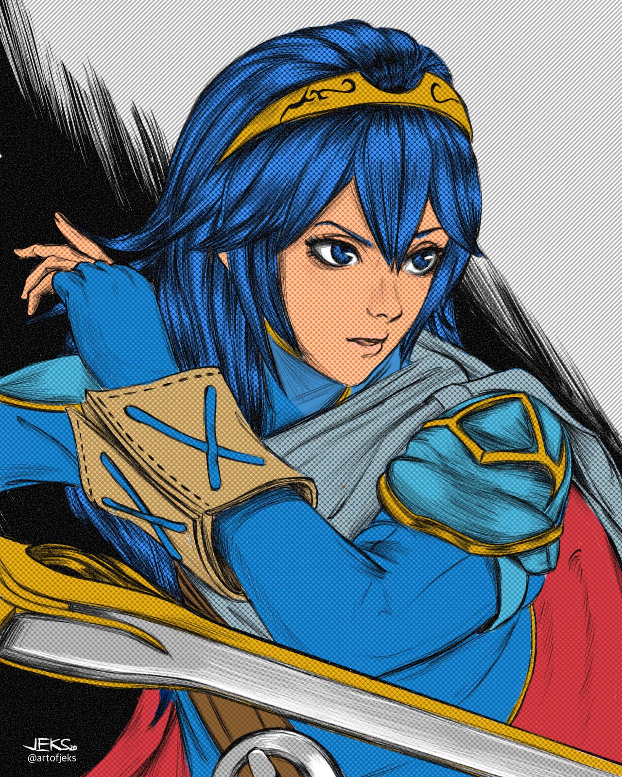 23 - Lucina of Fire Emblem Awakening