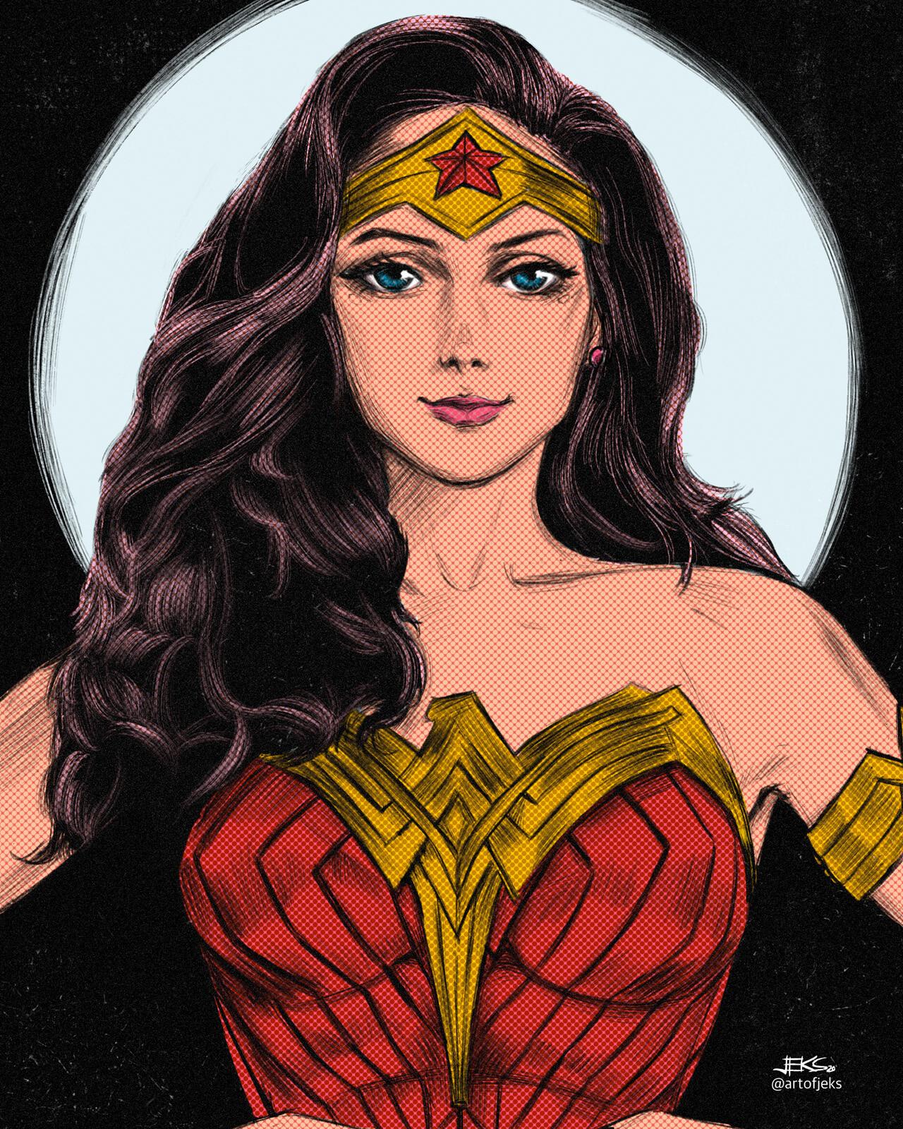 27 - Wonder Woman of DC Comics