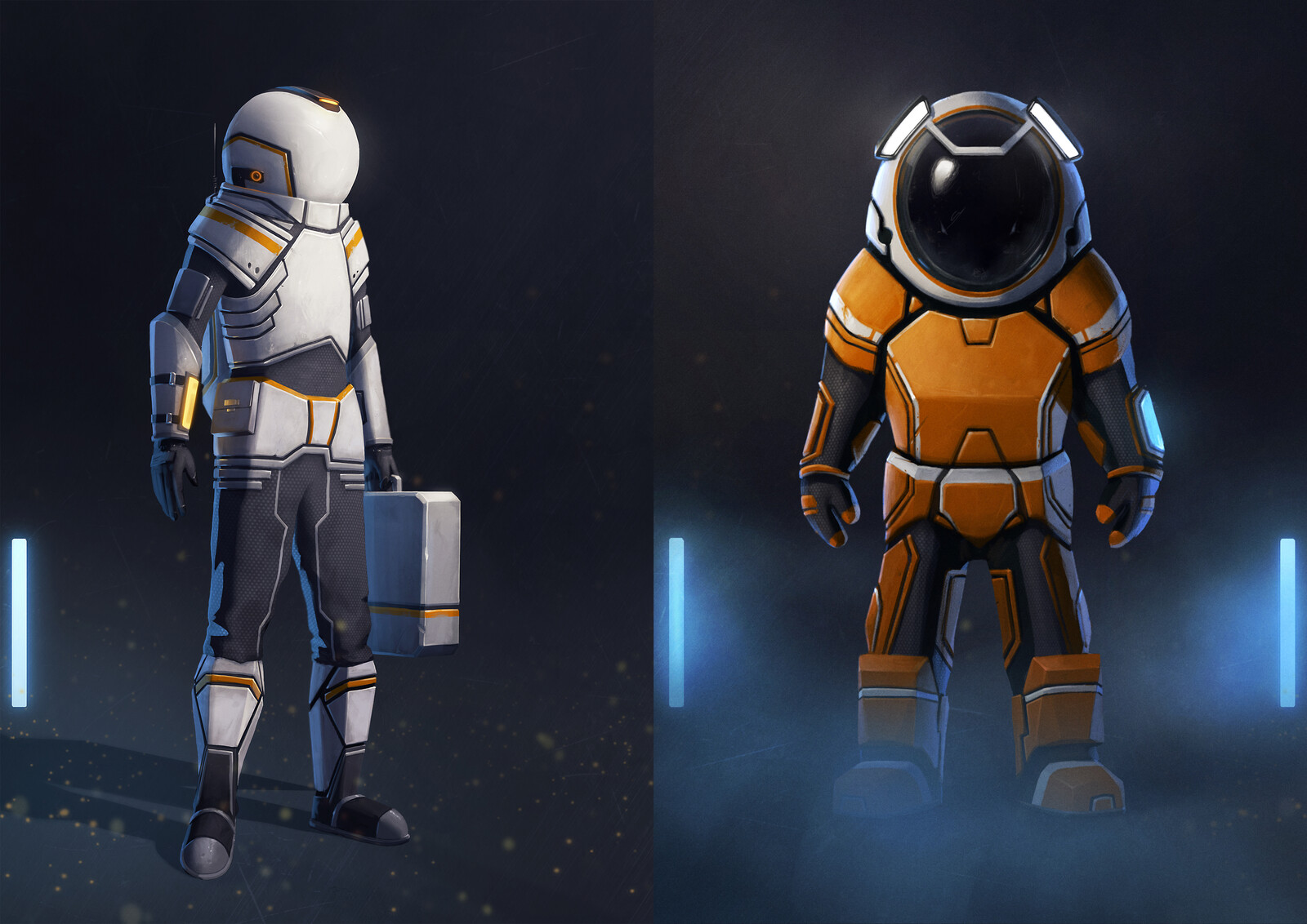 Exogate Initiative - Space exploration suits - concepts