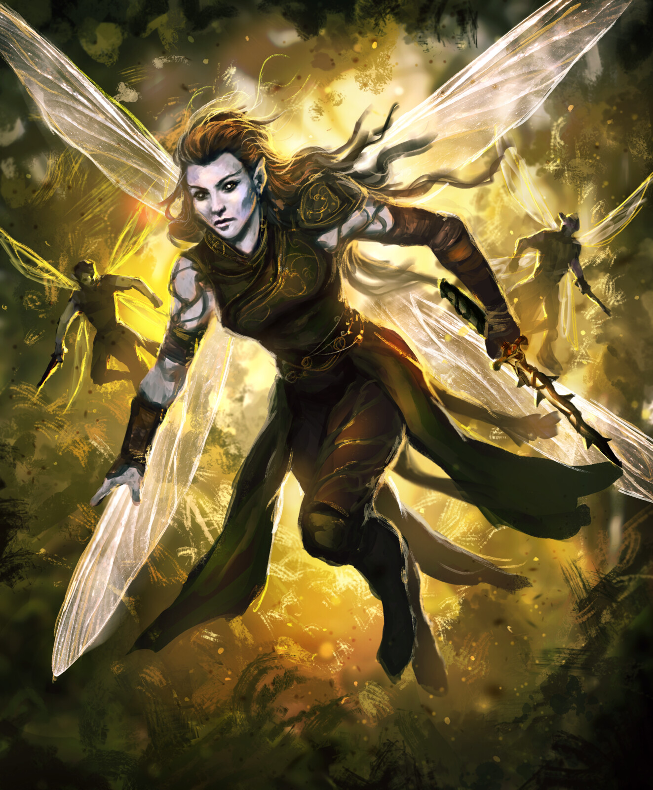Dragonfly Sprites-Arcane Gladiator TCG