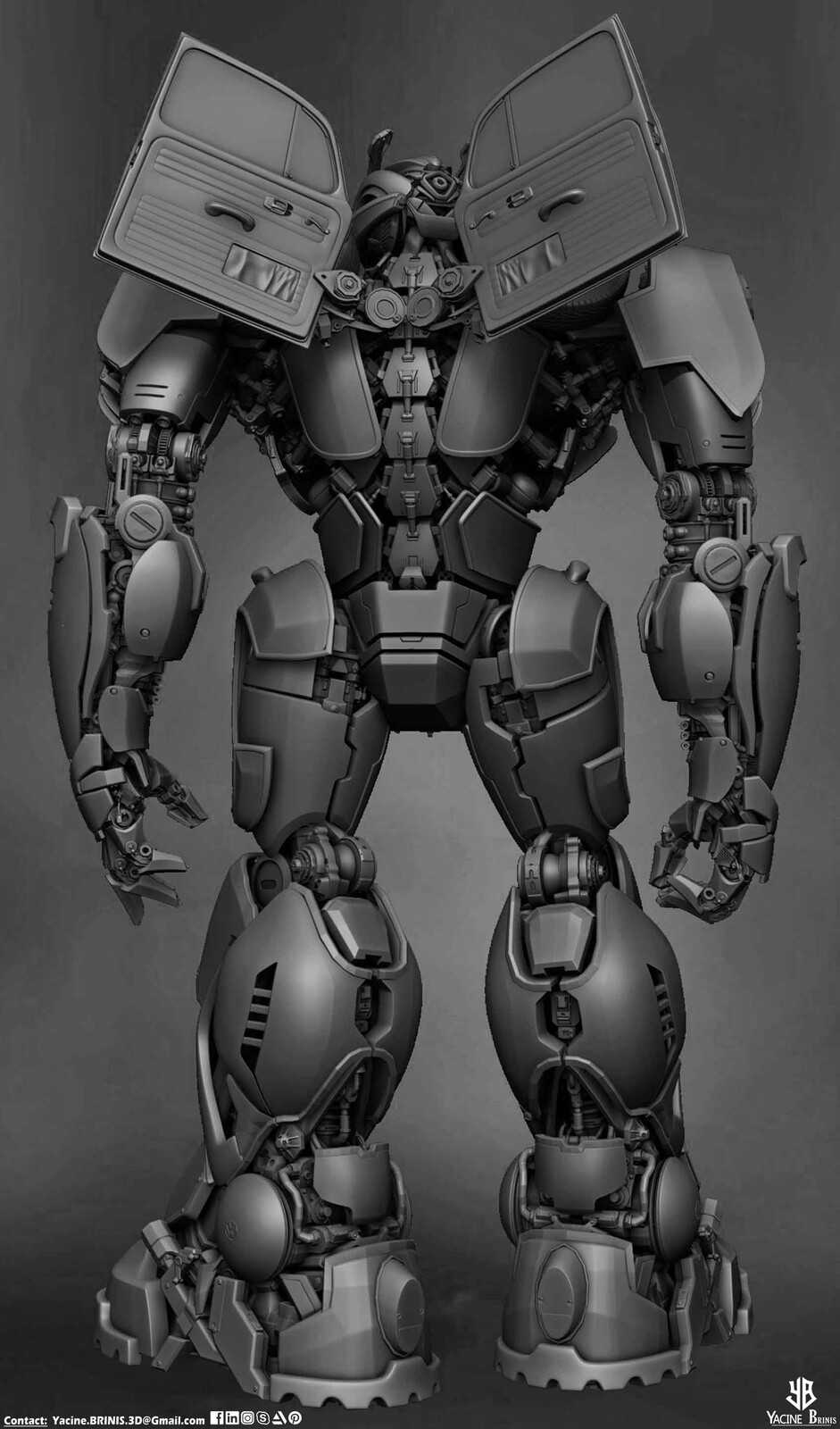 Bumblebee-Paramount Pictures-Designed by Yacine BRINIS-011