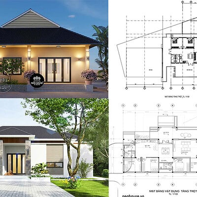 Neohouse architecture nha cap 4 3 phong ngu anh bia