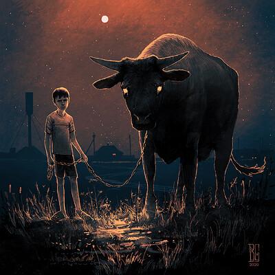 Boris groh bull logo
