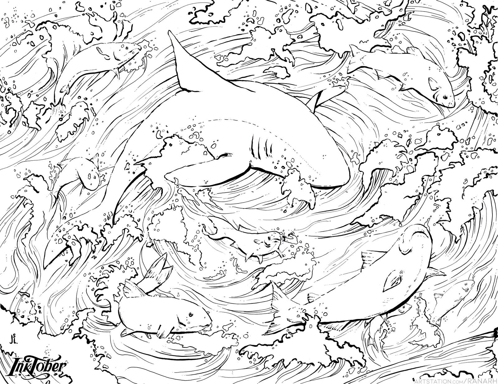 1. Fish Shark Jump