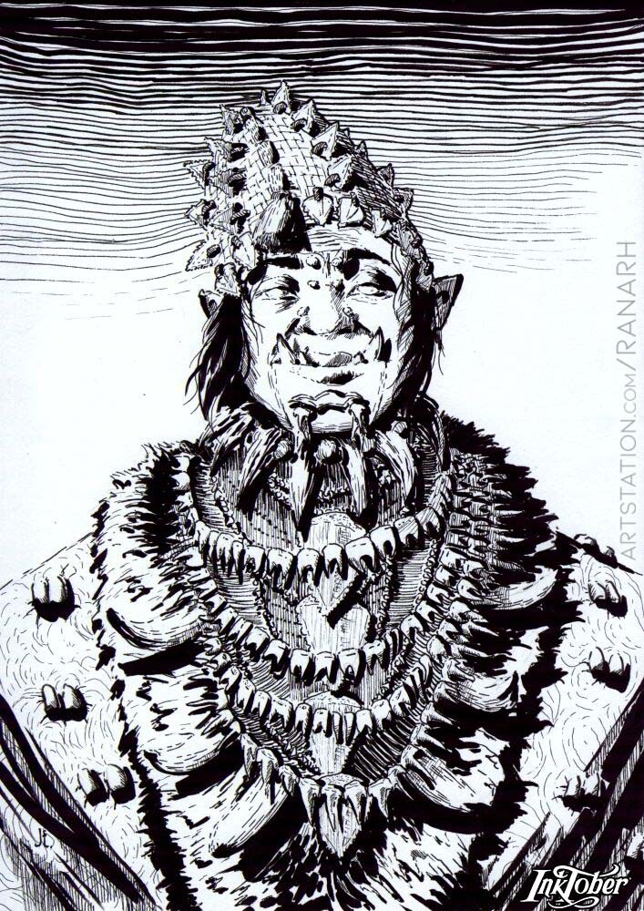 8. Teeth Orc Negotiator