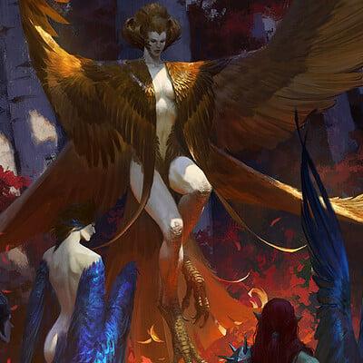 Bayard wu harpy queen