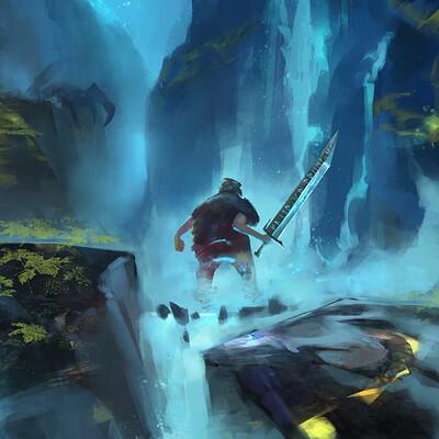 Giovanni calore giovanni calore dragon waterfall