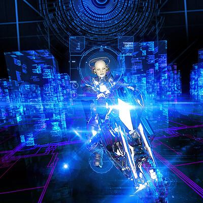 Luca oleastri cyberframe