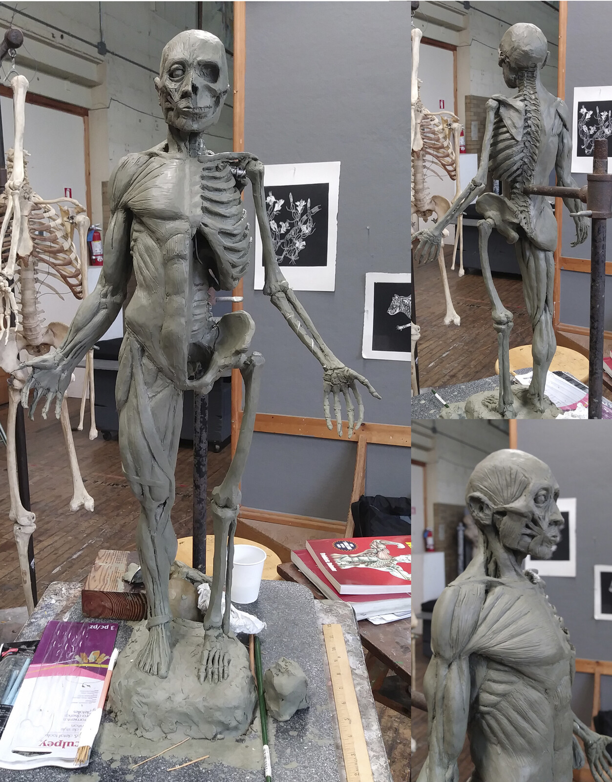 Echoche Sculpture WiP