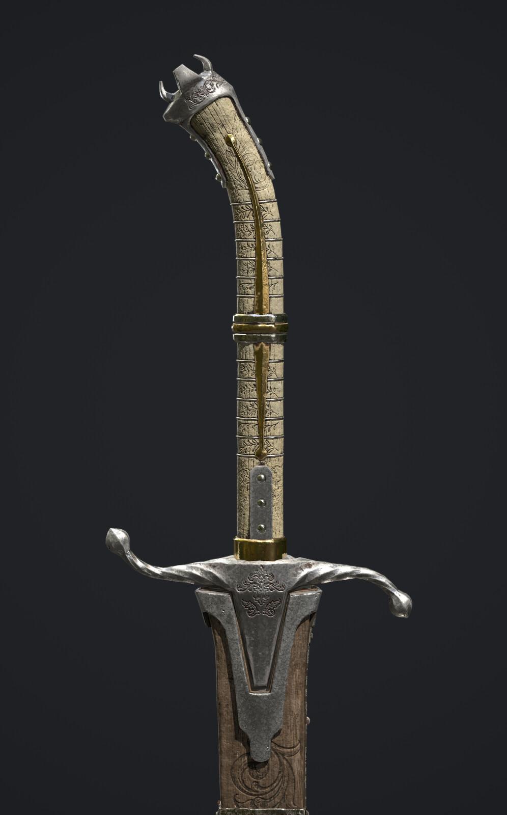 Dark Elf Sword