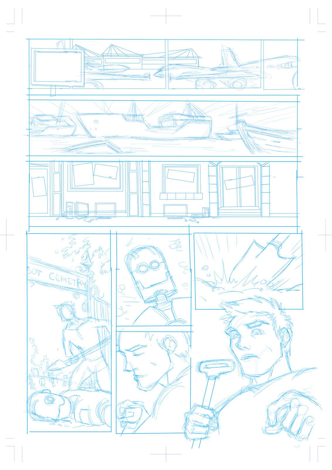 Initial layouts