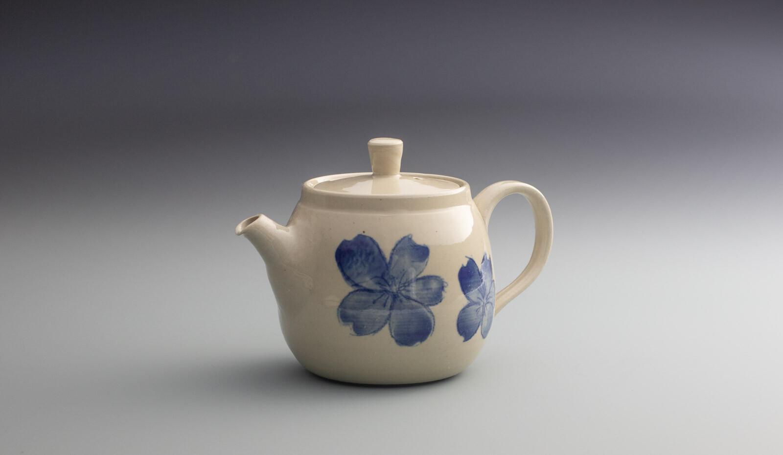 360ml stoneware teapot