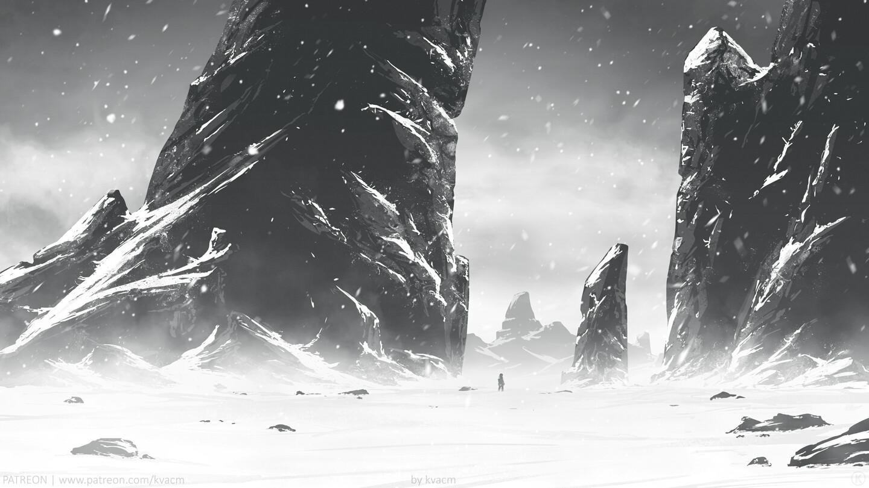 Needles of Snowy Plain