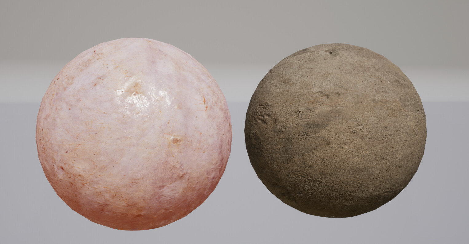 Materials used from Quixel Megascans