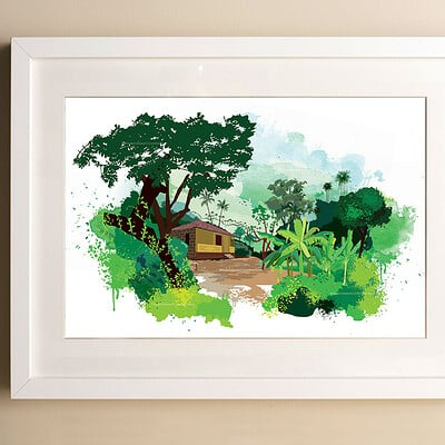 Rajesh r sawant simple white frame big