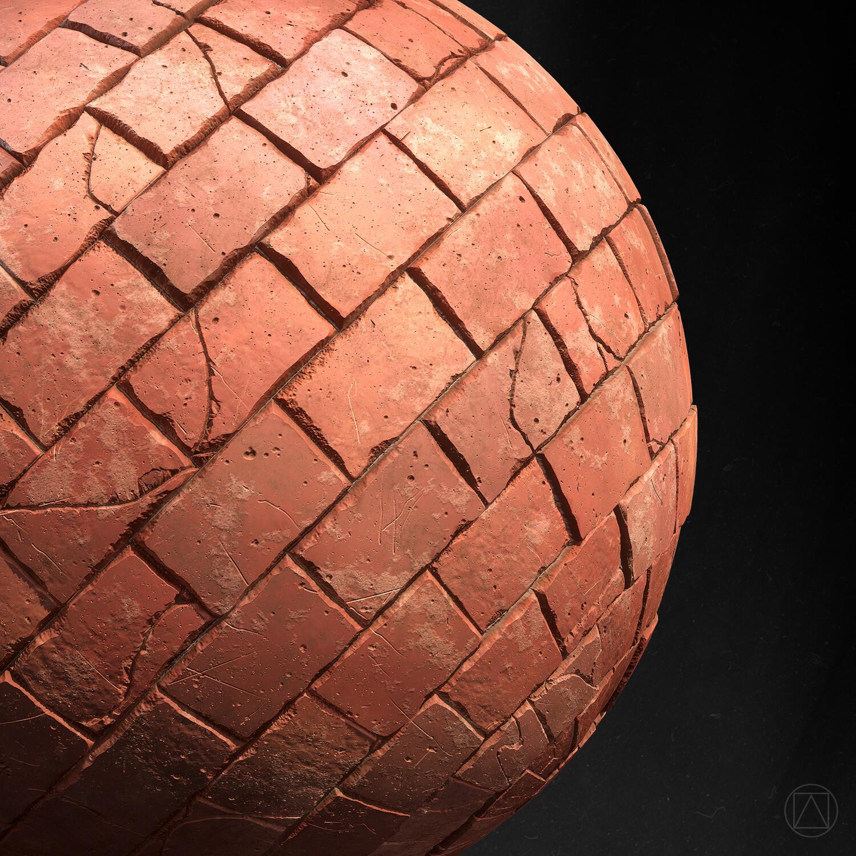Sphere detail.